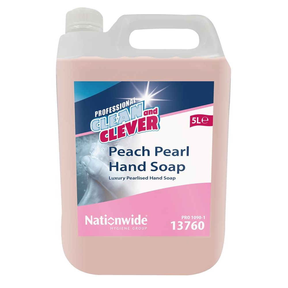 Clean & Clever Peach Pearl Soap