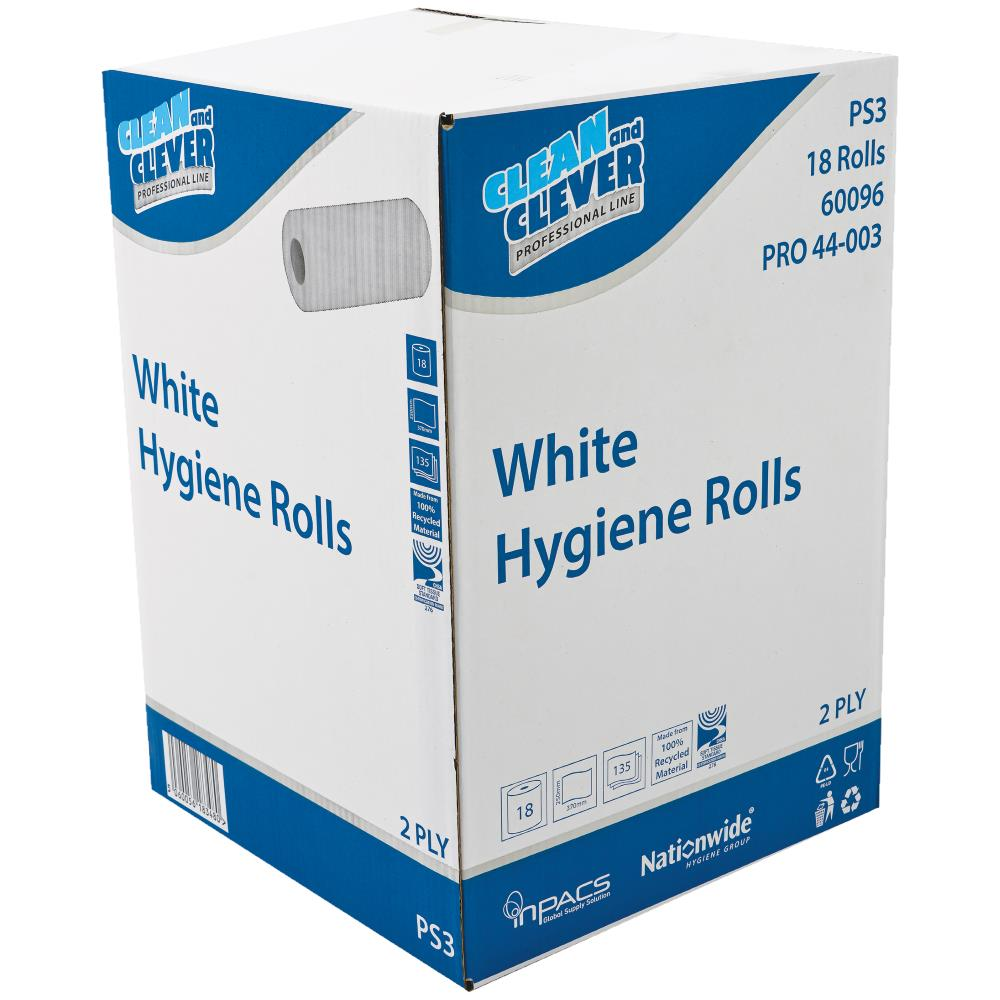 Clean & Clever Hygiene Roll - White PS3