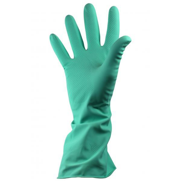 Green Household Rubber Gloves