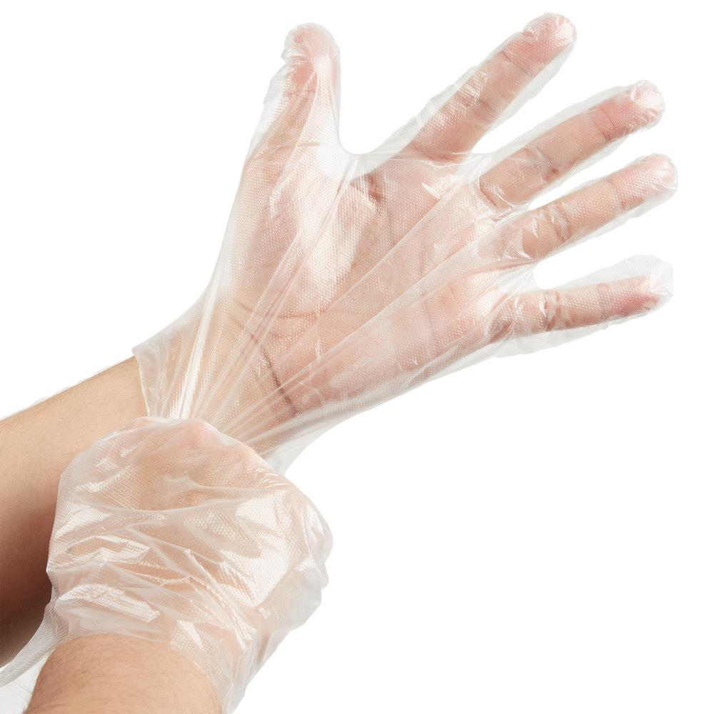 Polythene Gloves - Clear