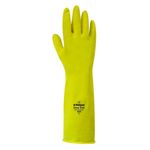 Yellow Long Kitchen Gloves