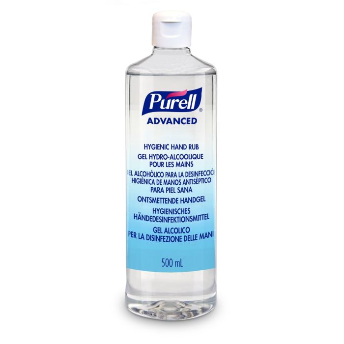 Purell Advanced Hand Rub Flip Top Bottle