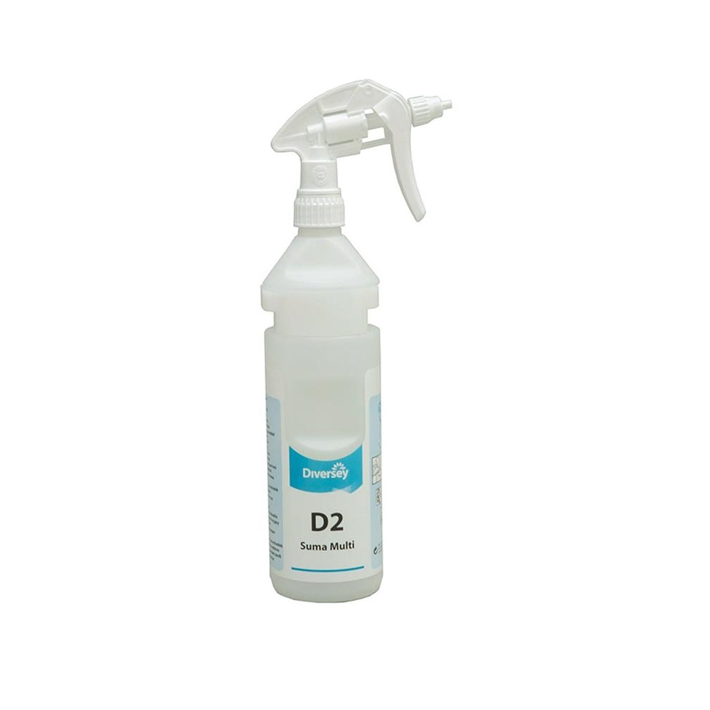D2 Suma Multi labelled refill bottle for Divermite