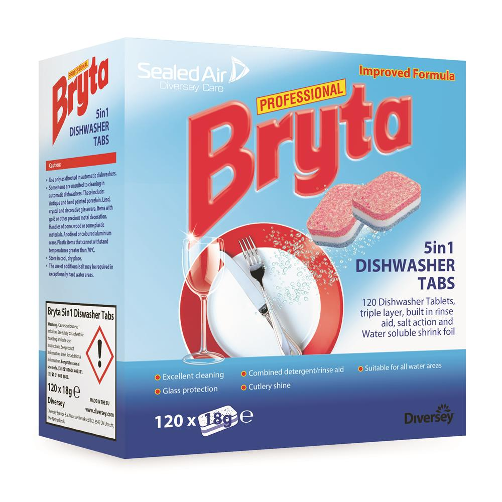 Bryta Professional 5in1 Dishwasher Tablets