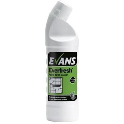 Evans Everfresh Toilet Cleaner - Apple