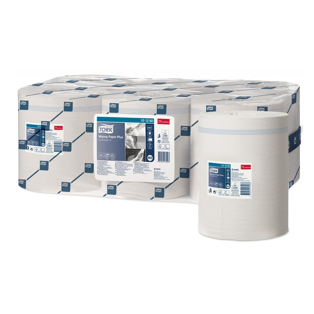 Tork Wiping Paper Plus - White
