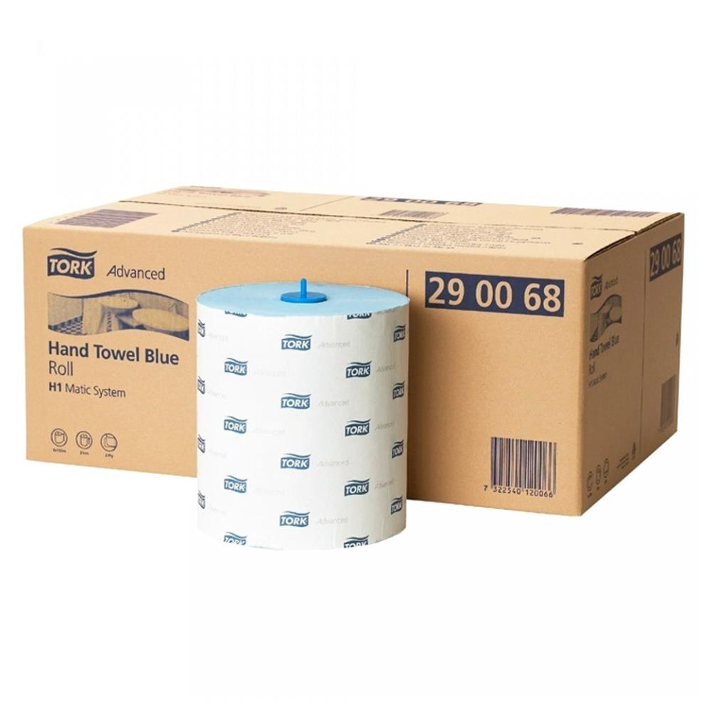 Tork Advanced Hand Towel Blue Roll