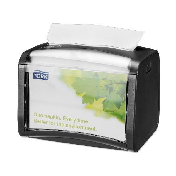 Xpress Table Top Napkin Dispenser - Black