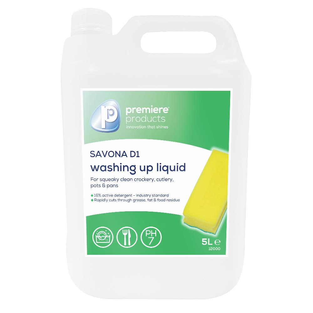 Premiere Savona D1 Washing Up Liquid