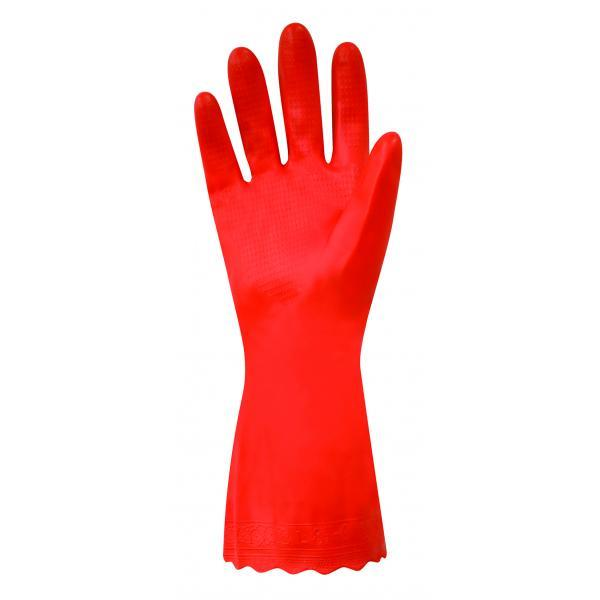 Red Latex Free Gloves