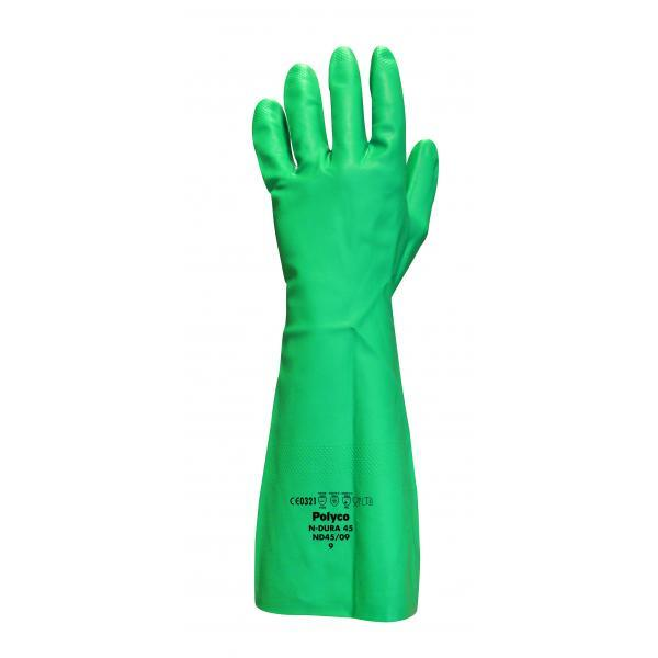 N-Dura Nitrile Synthetic Rubber Glove