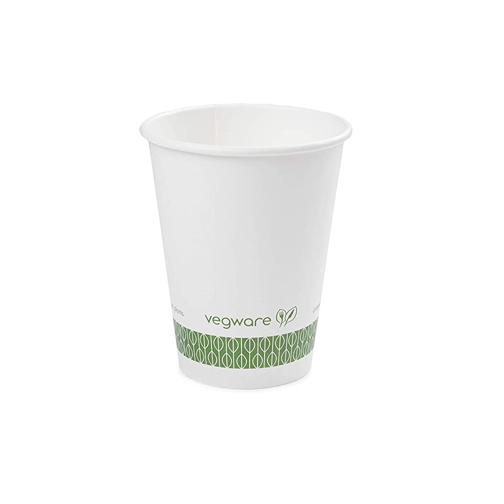 Vegware 12oz White Hot Cup