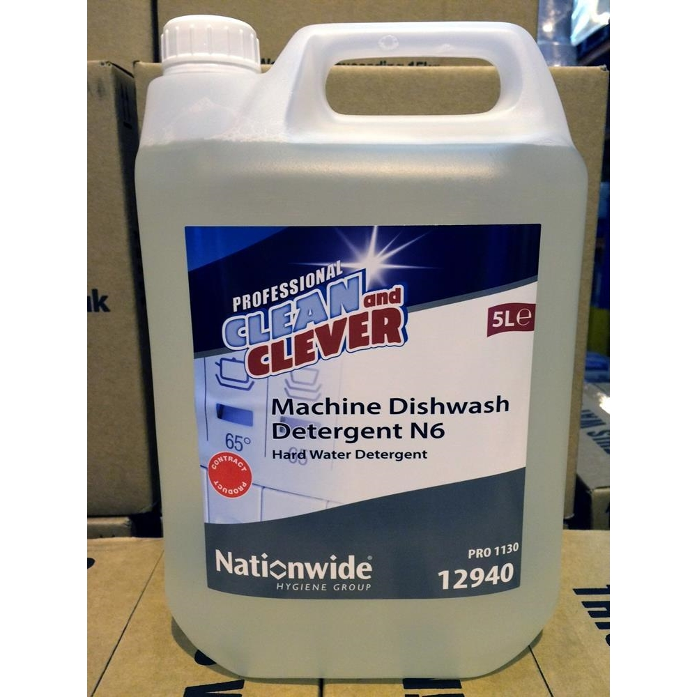 Clean & Clever N6 Machine Dishwasher Detergent
