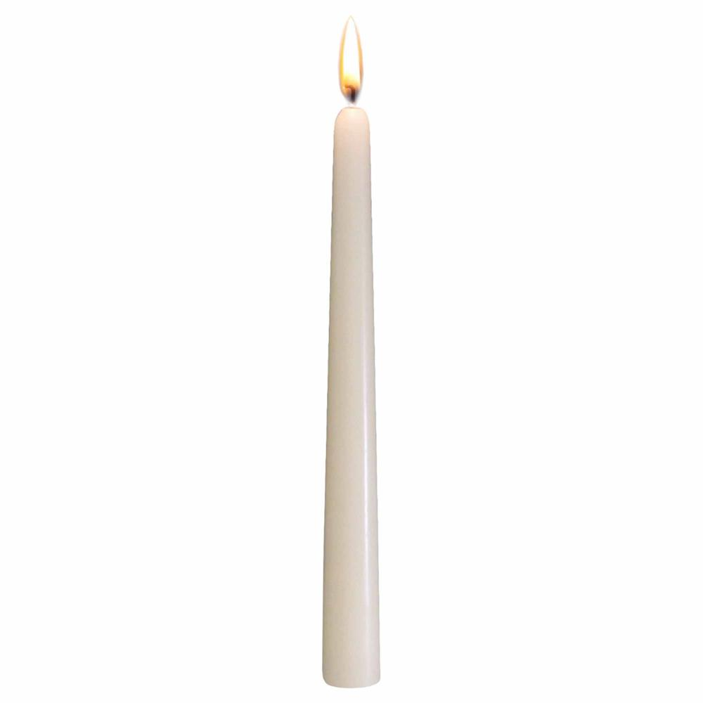 "10"" Tapered Candle - Ivory"