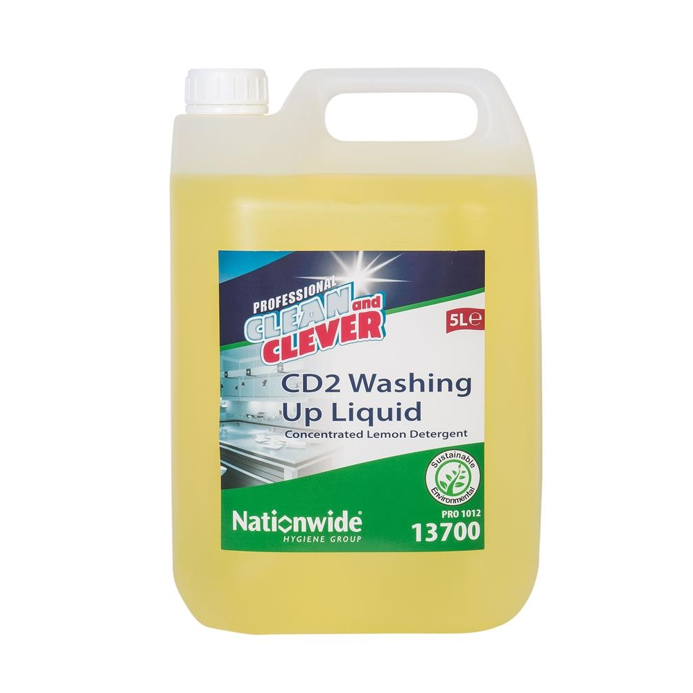 Clean & Clever CD2 Washing Up Liquid