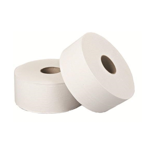 JT9000 Jumbo Toilet Roll 2Ply White