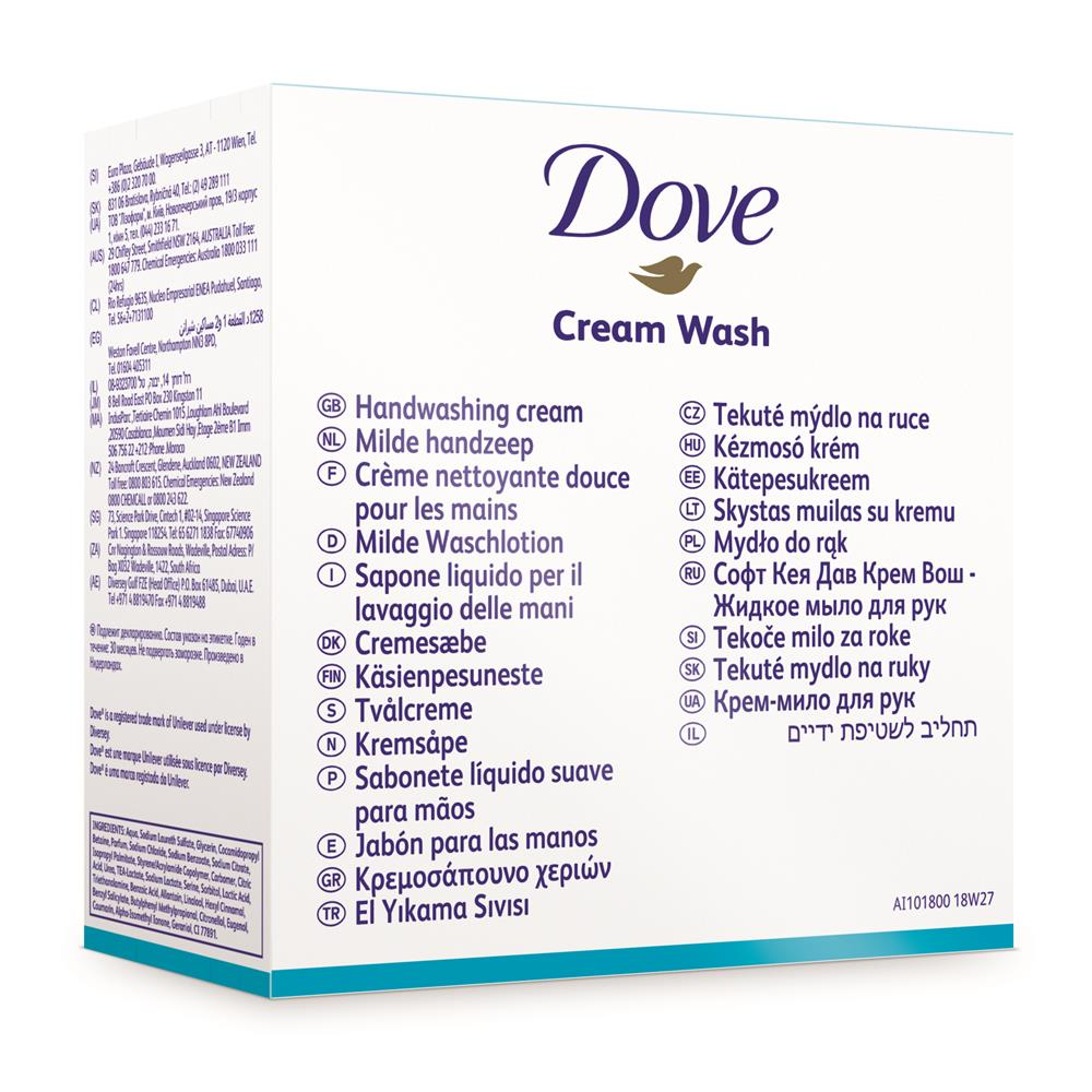 Soft Care Dove Cream Wash H2