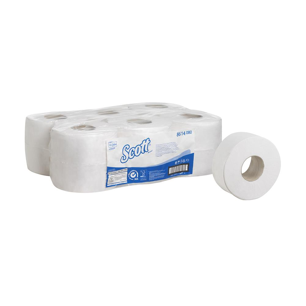 KC Scott Toilet Tissue - Mini Jumbo / Small Core